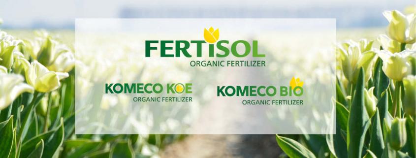 organische meststoffen Komeco in een nieuw jasje